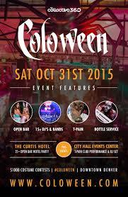 celebrate halloween in denver 21 and up events denver co