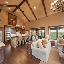 love this layout kitchen open to family room breakfast area