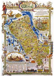 Liverpool England Map by Wirral Map Maps Pinterest