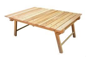 rio folding beach table carolina snack table small wood table