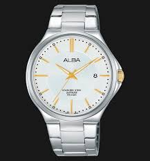 Jam Tangan Alba alba as9b43x1 white stainless steel jamtangan