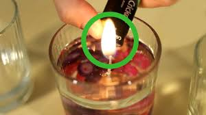how to make water candles with pictures wikihow