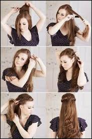 cute hairstyles you can do in 5 minutes 5 easy hairstyles braids messy bun cute everyday hairstyle
