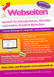flyer design preise schauweb grafik design logo flyer und plakatentwurf