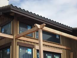 Pergola Rafter End Designs by Pergola Curved Ledger At House Framing Contractor Talk