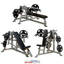 Powertec Leverage Bench Leverage Incline Bench Shoulder And Bench Press Package Body