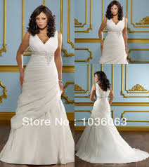 wedding dresses cheap online designer v neckline appliques ivory plus size wedding