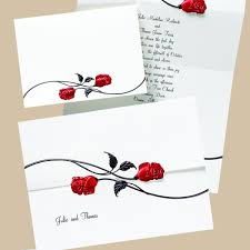 Invitation Cards Design With Ribbons Red Black And White Wedding Invitations Red Black And White