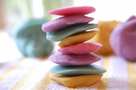 rainbow play dough crafts for pbs parents