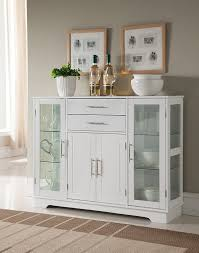 glass door kitchen cabinet with drawers white wood kitchen buffet display cabinet with storage drawers glass doors