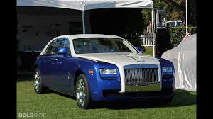 roll royce ghost blue rolls royce ghost bespoke edition