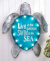 Sea Turtle Bed Sheets Sea Turtle Decor Coastal Living Decor