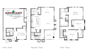 lucero floor plans north county new homes