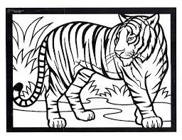tiger drawing for children how to draw a monkey tiger deer