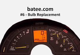 corvette instrument cluster repair 90 96 corvette 6 instrument panel bulb replacement