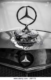 mercedes car ornament stock photos mercedes car