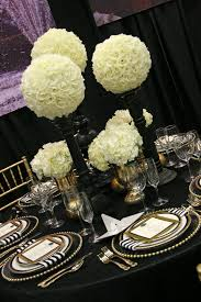 black and white centerpieces reception flowers arrangements rf1074 white and black