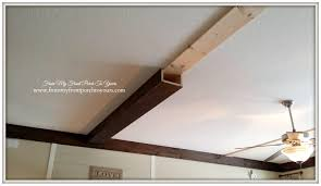 Living Room Ceiling Beams From My Front Porch To Yours How We Made Our Diy Wood Beams