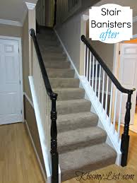 Painting A Banister White My Humongous Diy Stairs Fail Kiss My List