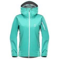 hardshell cycling jacket haglöfs roc spirit jacket hardshell jacket women u0027s free eu