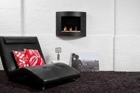 diamond i wall mounted bio ethanol fireplace