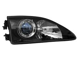 mustang projector headlights depo 94 98 ford mustang 2dr conv projector headlights 2 prong