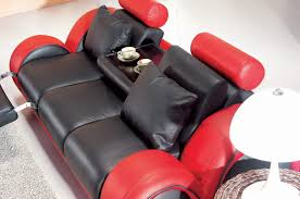 Red Sofa Set by 4088 Contemporary Black And Red Sofa Set