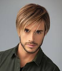 hair u wear chiseled by hairuwear heat resistant mono mens wig