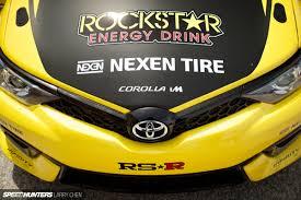 yellow toyota corolla rockstar d fredric aasbø u0027s corolla im revealed speedhunters