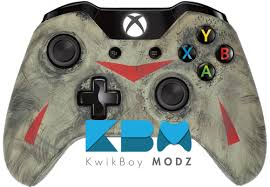 xbox one controller black friday custom friday the 13th xbox one controller kwikboy modz