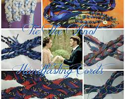 fasting cords handfasting etsy
