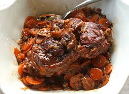 cuisiner jarret de boeuf jarret de veau caramélisé façon ducasse les filles à table
