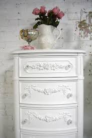 painted cottage chic shabby white lingerie chest ch847 795 00
