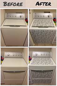 Home Design Quarter Contact New Look For Washer U0026 Dryer So Easy With Contact Paper My