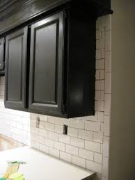 White Tile Backsplash Kitchen 100 Black Subway Tile Kitchen Backsplash Kitchen