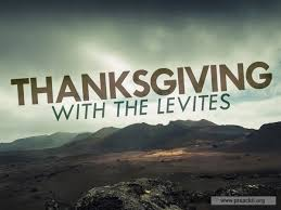 service background for church services thanksgiving with the levites