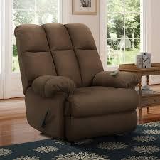 dorel living padded massage rocker recliner multiple colors