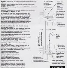 Cafe Swinging Doors Kitchen Hardware Installation Instruction Hinge Options Hardware