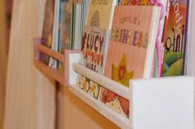 beautiful hanging shelf children wall shelves bookshelf solid
