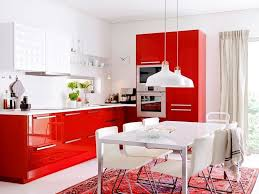 red white kitchen ideas u2014 smith design simple but effective red
