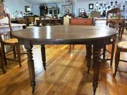 Drop Leaf Farm Table French Antique Circular Drop Leaf Farmhouse Kitchen Table Dining