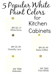 best benjamin moore paint for kitchen cabinets 5 popular white