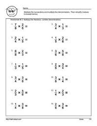 11 best images of dividing fractions worksheets 7th grade