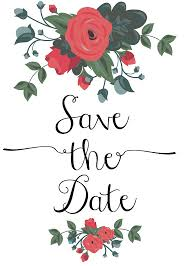 free clipart for save the date cards clipartfest clipartix
