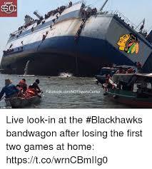Blackhawks Meme - reuters facebookcomnotsportscenter live look in at the blackhawks