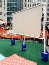 birthday movie party make a low cost movie screen free diy
