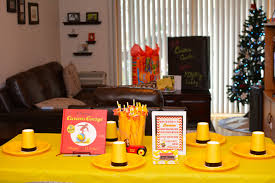 curious george party curious george themed 1st birthday party project nursery