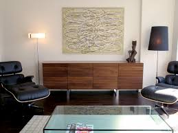 Credenzas And Buffets by Credenza Buffet Living Room Midcentury With Art Cabinet Credenza
