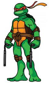 draw michelangelo ninja turtles step step easy step