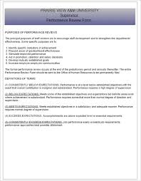 doc 608789 simple performance appraisal form u2013 free employee